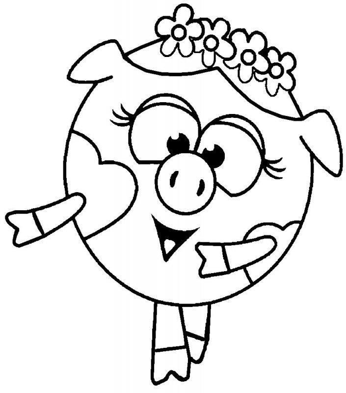 Раскраски для детей онлайн мультики 141